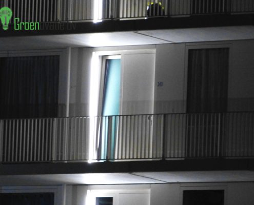 Projet d'éclairage LED Groningue